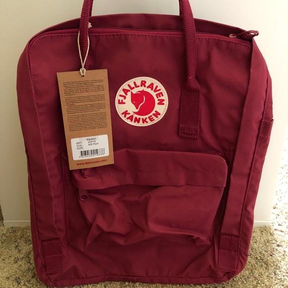 70c23293330cc FJALLRAVEN KANKEN backpack (plum)